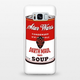 Galaxy S8+  Star Wars Campbells Soup Darth Maul by Alisterny