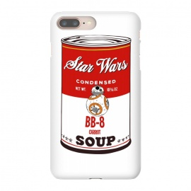 iPhone 8/7 plus  Star Wars Campbells Soup BB-8 by Alisterny