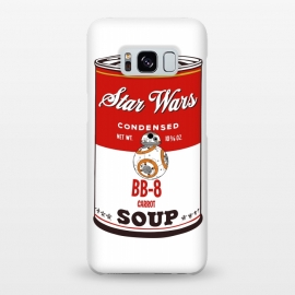 Galaxy S8+  Star Wars Campbells Soup BB-8 by Alisterny