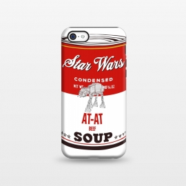 iPhone 5C  Star Wars Campbells Soup At-At by Alisterny