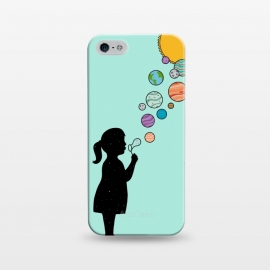 iPhone 5/5E/5s  Planets bubbles by Coffee Man