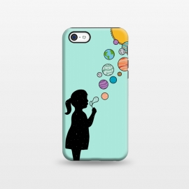 iPhone 5C  Planets bubbles by Coffee Man