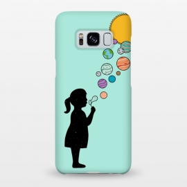 Galaxy S8+  Planets bubbles by Coffee Man