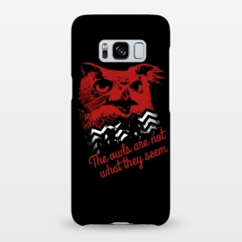 Galaxy S8+  Twin Peaks The Owls Are Not What They Seem by Alisterny (twin-peaks, twinpeaks, davidlynch, david-lynch, lynch, twinpeaks2017, dale-cooper, dalecooper, owl, owls, the-owls-are-not-what-they-seem, black-lodge, blacklodge, theowlsarenotwhattheyseem,mashup, mashups, funny, popculture, funnytshirt, funnyshirt, tshirt, parody, nerd, geek, geeky, humor, humour,)