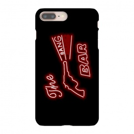iPhone 8/7 plus  Twin Peaks The Bang Bang Bar Logo by  (twin-peaks, twinpeaks, davidlynch, david-lynch, lynch, twinpeaks2017, showtime, bang-bang-bar, bar, logo, neon, sign, guns, music, venue,mashup, mashups, funny, popculture, funnytshirt, funnyshirt, tshirt, parody, nerd, geek, geeky, humor, humour, fanart, fan art, movies, movie, film, quotes, cool, )