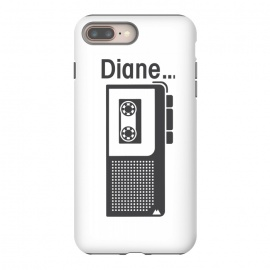 Twin Peaks Diane Dictaphone by Alisterny (twin-peaks, twinpeaks, davidlynch, david-lynch, lynch, laurapalmer, twinpeaks2017, dale-cooper, dalecooper, diane, dictaphone,mashup, mashups, funny, popculture, funnytshirt, funnyshirt, tshirt, parody, nerd, geek, geeky, humor, humour, fanart, fan art, movies, movie, film, quotes, cool, design, tee)