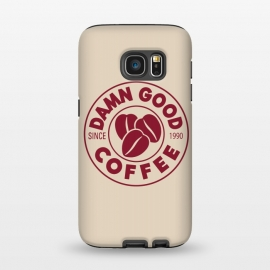 Galaxy S7  Twin Peaks Damn Good Coffee Costa by Alisterny
