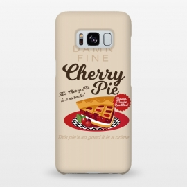 Galaxy S8+  Twin Peaks Damn Fine Cherry Pie by Alisterny