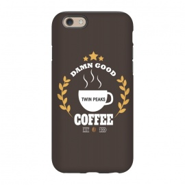 iPhone 6/6s  Twin Peaks Damn Good Coffee by Alisterny (twin-peaks, twinpeaks, tv-series, markfrost, mark-frost, firewalkwithme, davidlynch, david-lynch, lynch, laurapalmer, murder, crime, detective, laura-palmer, twinpeaks2017, showtime, cherry-pie, cherrypie, pie, cherry, coffee, damngoodcoffee, damn-good-coffee, dale-cooper, cooper, fbi, dalecooper,ma)