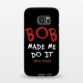 Galaxy S7  Twin Peaks Bob Made Me Do It by Alisterny