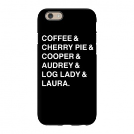 iPhone 6/6s  Twin Peaks Coffee & Cherry  by Alisterny