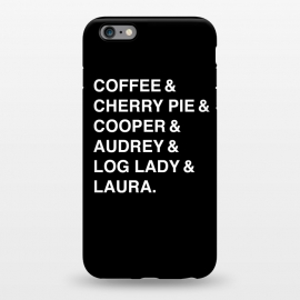 iPhone 6/6s plus  Twin Peaks Coffee & Cherry  by Alisterny