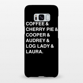 Galaxy S8+  Twin Peaks Coffee & Cherry  by Alisterny