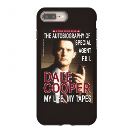 iPhone 8/7 plus  Twin Peaks Dale Cooper Book by Alisterny