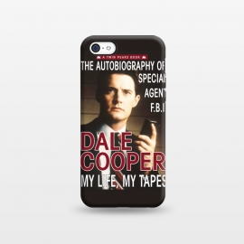 iPhone 5C  Twin Peaks Dale Cooper Book by Alisterny