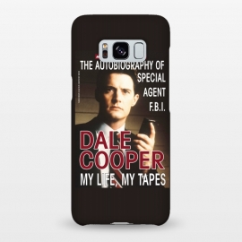 Galaxy S8+  Twin Peaks Dale Cooper Book by Alisterny