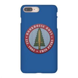 iPhone 8/7 plus  Twin Peaks Bookhouse Boys Embroidered by Alisterny