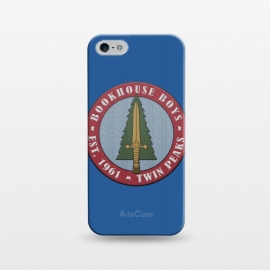 iPhone 5/5E/5s  Twin Peaks Bookhouse Boys Embroidered by Alisterny