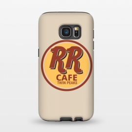 Galaxy S7  Twin Peaks RR Cafe by Alisterny (twin-peaks, twinpeaks, tv-series, markfrost, mark-frost, firewalkwithme, davidlynch, david-lynch, lynch, laurapalmer, murder, crime, detective, laura-palmer, twinpeaks2017, showtime, welcome, sign, badge, bookhouse, boys, sheriff,  dale-cooper, dalecooper, rr, rrcafe, hardrockcafe, hard-rock-cafe, l)