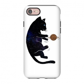 iPhone 7  Cat Universe by Coffee Man