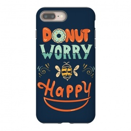 Donut Worry Be Happy by Coffee Man