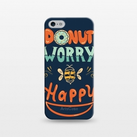 iPhone 5/5E/5s  Donut Worry Be Happy by