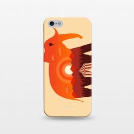 iPhone 5/5E/5s  Elephant Landscape by  (elephant,landscape, nature, circus, negative space, sun, mountain, animal,animal lover, wild, africa, pet,creative)