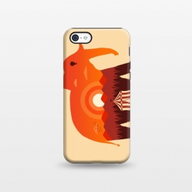 iPhone 5C  Elephant Landscape by Coffee Man