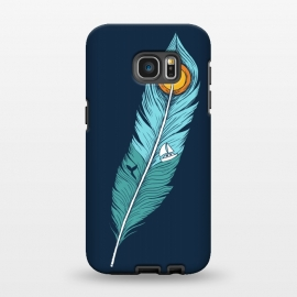 Galaxy S7 EDGE  Feather Landscape by Coffee Man
