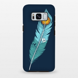 Galaxy S8 plus  Feather Landscape by