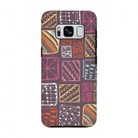 Galaxy S8  Doodle Squares by Rachael Taylor ()
