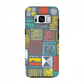 Galaxy S8  Square Metropolis Leaves by Rachael Taylor ()