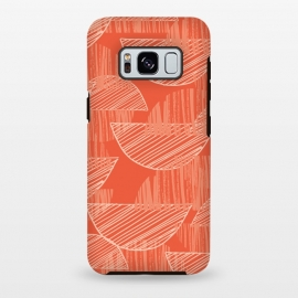 Galaxy S8+  Orange Arcs by Rachael Taylor ()