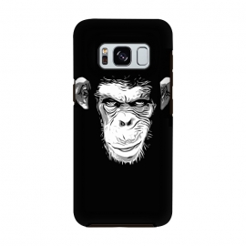 Galaxy S8  Evil Monkey by Nicklas Gustafsson (monkey,ape,chimp,chimpanzee,animal,evil,grin,illustration)