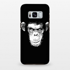 Galaxy S8+  Evil Monkey by Nicklas Gustafsson (monkey,ape,chimp,chimpanzee,animal,evil,grin,illustration)