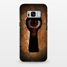 Galaxy S8+  Who is watching you by Nicklas Gustafsson (keyhole,eye,watching,big brother,surveilance,spy,paranoid,conspiracy)