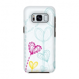 Galaxy S8  Love Garden  White by MaJoBV ()
