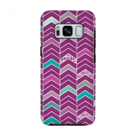 Chevron Purple by Rosie Simons ()
