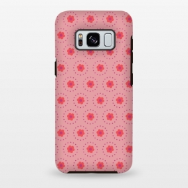 Galaxy S8+  Pink Circular Floral by Rosie Simons ()