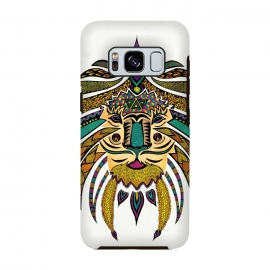 Galaxy S8  Emperor Tribal Lion by Pom Graphic Design