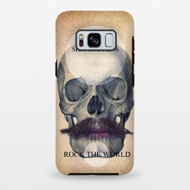 Galaxy S8 plus  SKULL ROCK THE WORLD OK by  ()