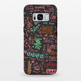 Galaxy S8 plus  Love Love Love ballpoint doodles by  ()
