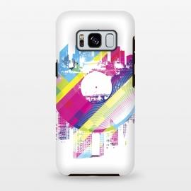 Galaxy S8 plus  Urban Vinyl Colorful by  (Vinyl,Turntable,city,town,urban,modern,colorful,DJ,Deejay,techno,deep,house,dub,dubstep,DNB,sound,audio,club,clubber)