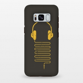 Galaxy S8 plus  GOLD HEADPHONES by