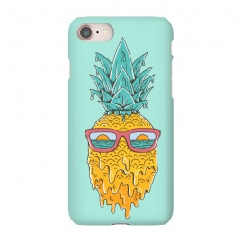 iPhone 8/7  Pineapple Summer Blue by Coffee Man