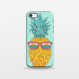 iPhone 5C  Pineapple Summer Blue by Coffee Man