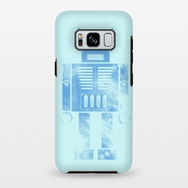 Galaxy S8 plus  Robophobia by  (Robo,Robot,Robophobia,phobia,droid,android,space,metal,fun,humor,blue,fear)