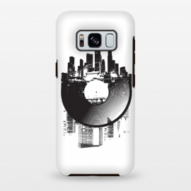 Galaxy S8 plus  Urban Vinyl by  (Urban,modern,music,vinyl,turntable,turntabilism,digital,analog,dj,deejay,mono,stereo,city,town,street)