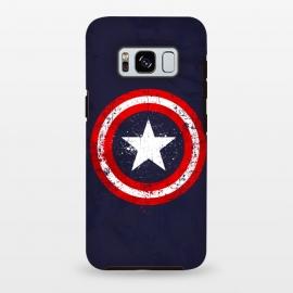 Galaxy S8 plus  Captain's America splash by