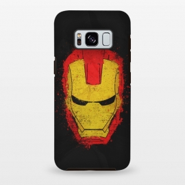 Galaxy S8+  Iron Man splash by Sitchko Igor (Iron,Man,Iron Man,Metal,Superhero,Comics,Movie,American,Marvel)